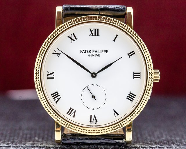 Patek Philippe 3919J-001 Calatrava 18K Yellow Gold