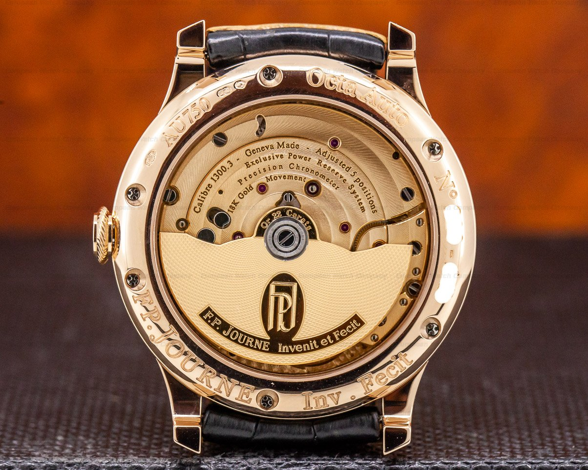 F. P. Journe Octa Automatique Lune Octa Automatique Lune Red Gold / Gold Numbers 40mm