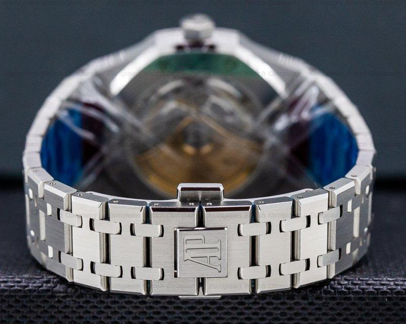Audemars Piguet 15450ST.OO.1256ST.03 Royal Oak Blue Dial SS / SS Midsize UNWORN