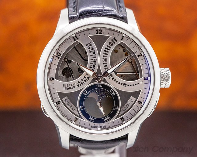 Maurice Lacroix MP7278-SS001-320 Masterpiece Lune Retrograde SS