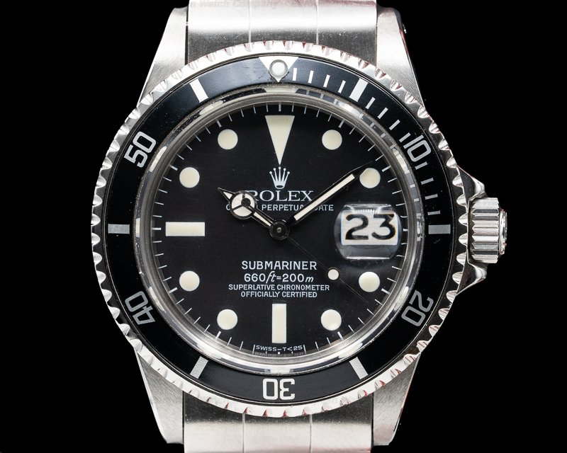 Rolex 1680 Submariner 1680 SS BOX & PAPERS Circa 1974