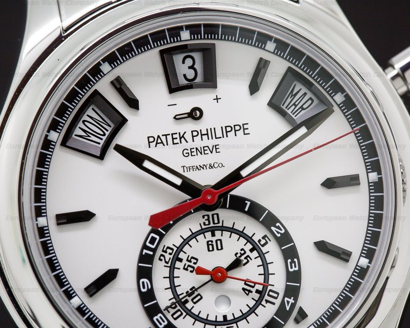 Patek Philippe 5960/1A-001 TIFFANY & CO Annual Calendar Chronograph SS DISCONTINUED