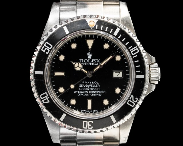 Rolex 16660 Sea Dweller Transitional SS TIFFANY & CO