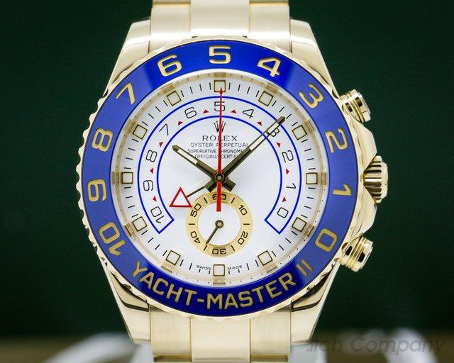 Rolex 116688 Yacht Master II 18K Yellow Gold