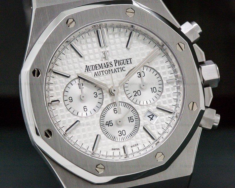 Audemars Piguet 26320ST.OO.1220ST.02 Royal Oak Chronograph Silver Dial SS 41MM