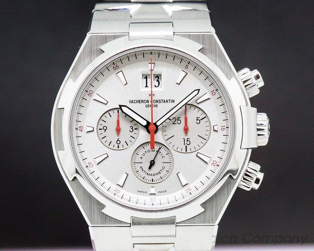Vacheron Constantin 49150/000A-9017 Overseas Chronograph SS Silver Dial LIMITED