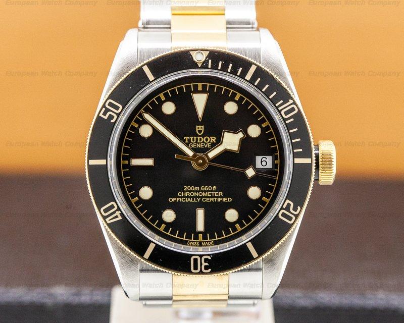 Tudor 79733N Tudor Heritage 79733N Black Bay SS / 18k YG