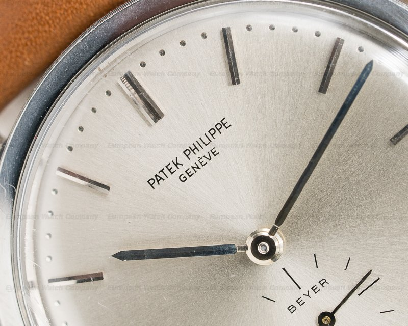 Patek Philippe 3466 3466 Steel Calatrava BEYER Automatic RARE UNPOLISHED