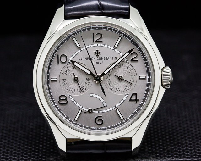 Vacheron Constantin 4400E/000A-B437 Fiftysix Tradition Day Date SS Silver