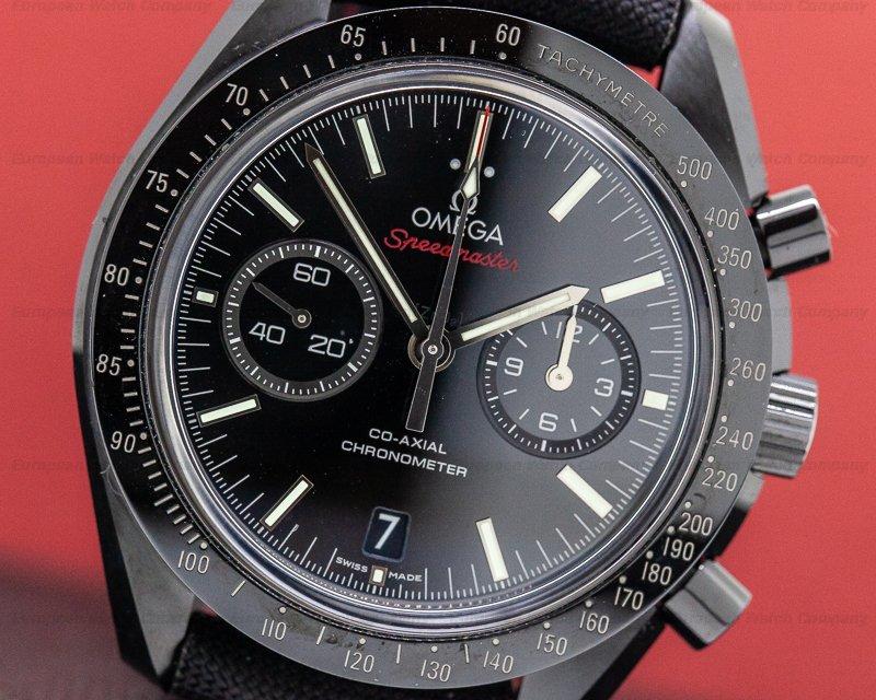 Omega 311.92.44.51.01.003 Dark Side of the Moon Ceramic Black Dial