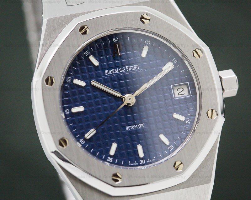 Audemars Piguet 14790ST.OO.0789ST.08 Royal Oak 36mm Blue Dial SS FULL SET