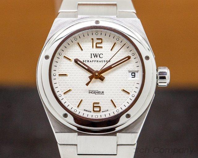 IWC 4515 Ingenieur Midsize SS White Dial