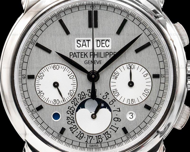 Patek Philippe 5270G-001 Perpetual Calendar Chronograph 18K White Gold
