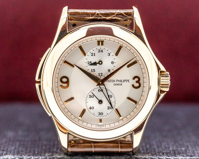 Patek Philippe 5134R-011 Travel Time 18K Rose Gold Manual Wind