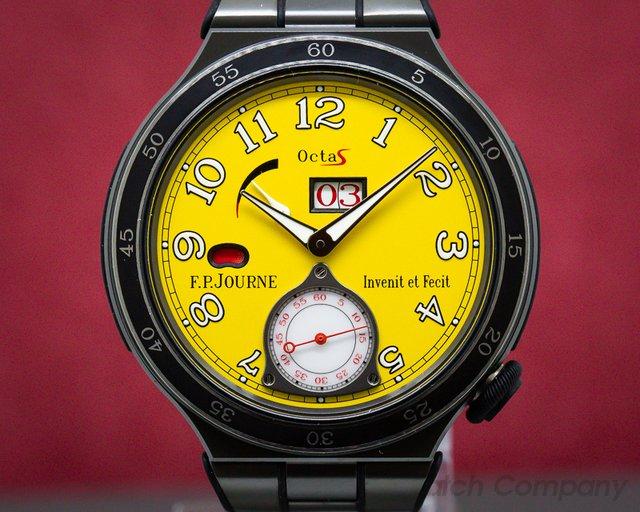 F. P. Journe lineSport Octa Sport Titanium Yellow Dial