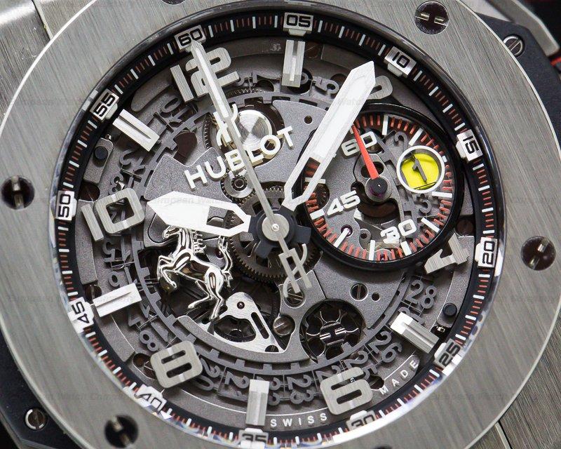 Hublot 401.NX.0123.VR Ferrari Big Bang Unico SS LIMITED