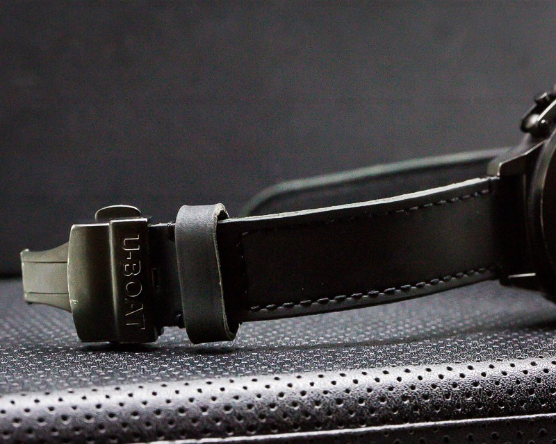U-Boat 2278 Classico CAB 4/45 Black SS/Carbon Fiber/Leather 45MM