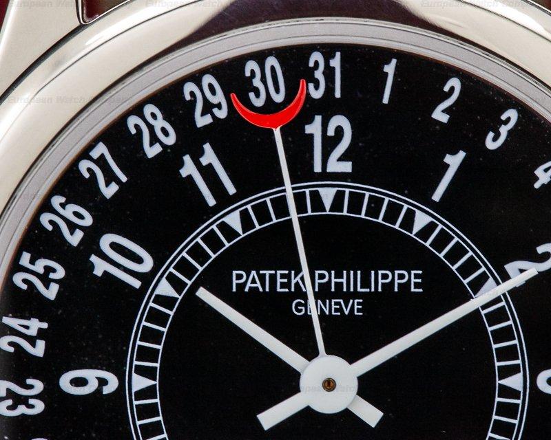 Patek Philippe 6000G-001 Calatrava Automatic Black Dial