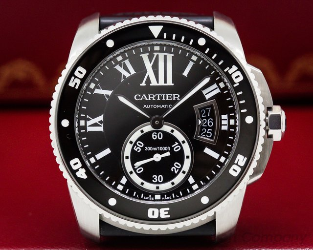 Cartier W7100056 Calibre de Cartier Diver Automatic SS / Rubber