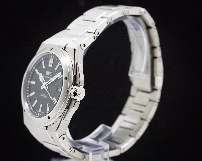 IWC IW323902 Ingenieur Black Dial SS / SS