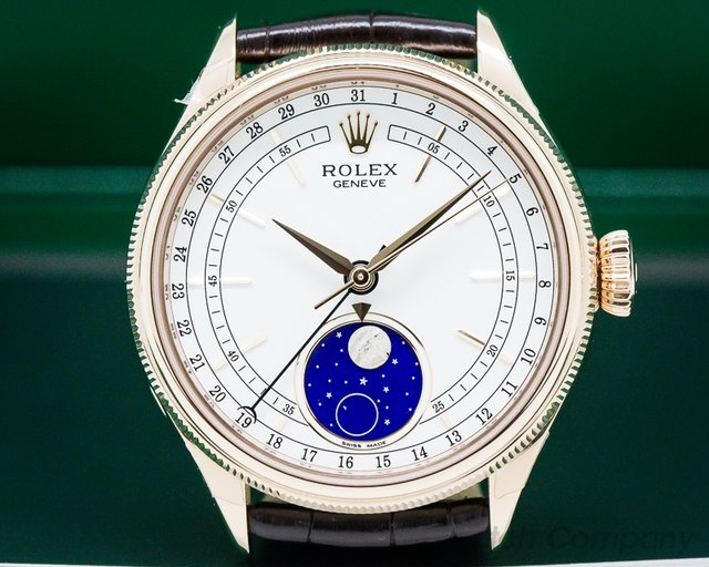 Rolex 50535 Rolex Cellini Moonphase 535 18K Rose Gold UNWORN