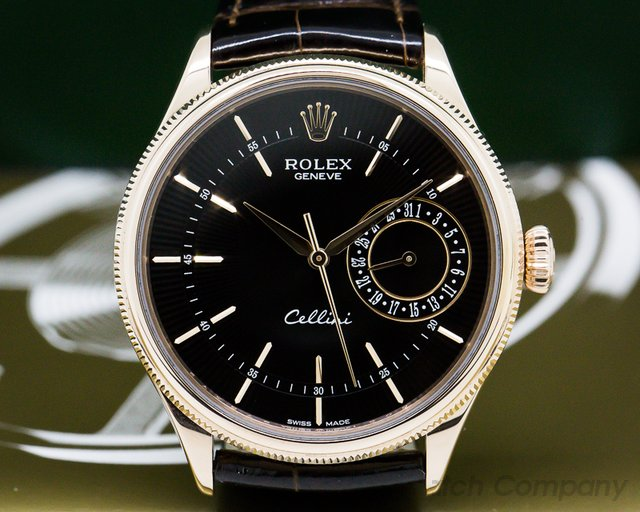 Rolex 50515 Cellini 18K Rose Gold
