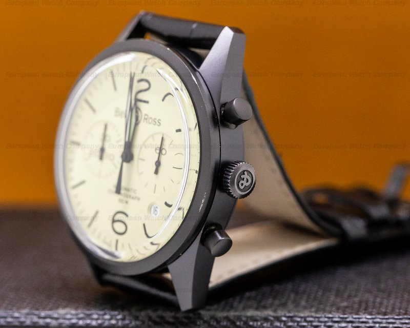 Bell & Ross BR 126-94 Vintage 126 Heritage Chronograph PVD