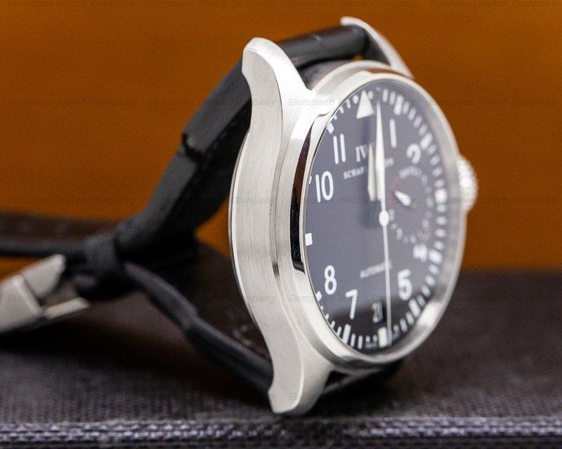 IWC IW500901 Big Pilot SS / Leather