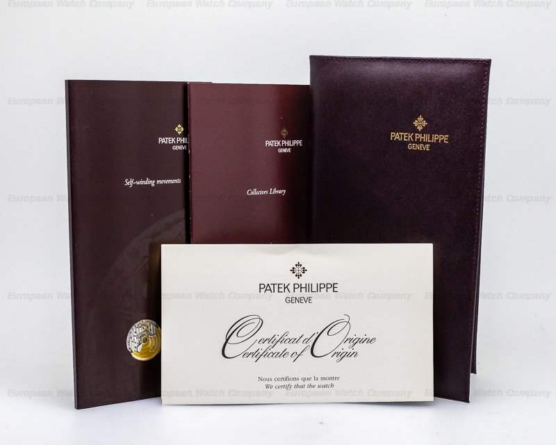 Patek Philippe 5053J-001 Calatrava Officers Case 18K Yellow Gold