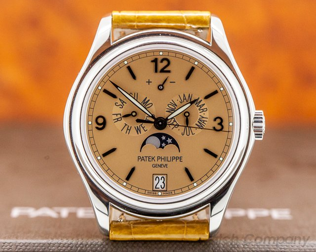 Patek Philippe 5450P-001 Advanced Research Annual Calendar Platinum Salmon Dial Limited UNWORN