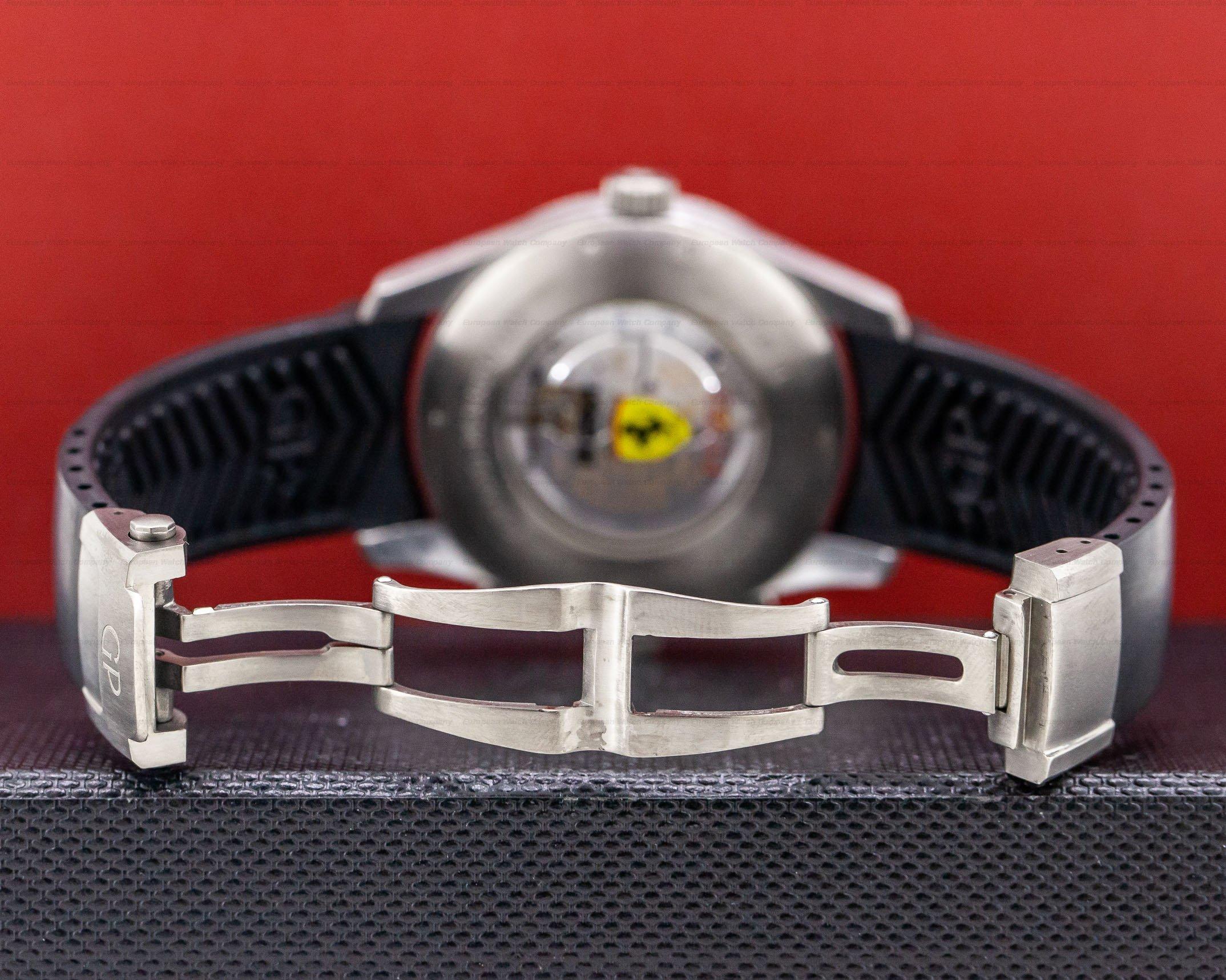 Girard Perregaux 49800 World Time WW.TC Ferrari Titanium
