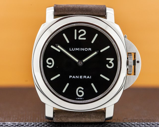 Panerai PAM00112 Luminor Base Manual Wind 44MM SS