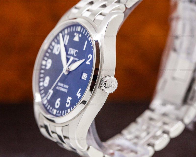 IWC IW327014 Mark XVIII Le Petite Prince Blue Dial SS