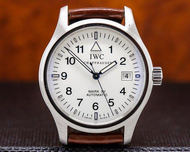 IWC 3253-09 Mark XV White Dial SS