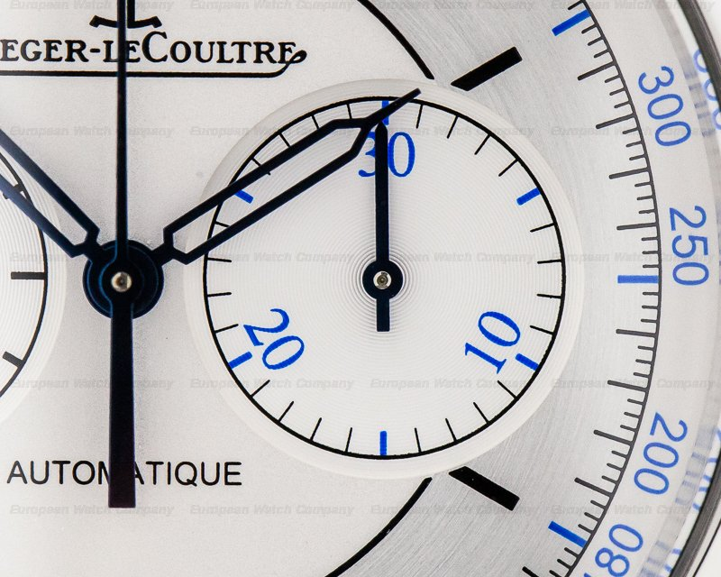 Jaeger LeCoultre Q1538530 Master Chronograph Sector Dial SS