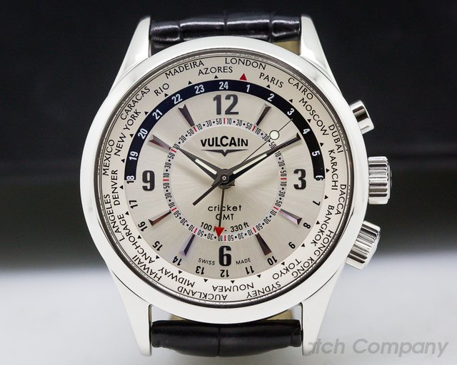Vulcain 100108.027 Cricket Aviator GMT SS