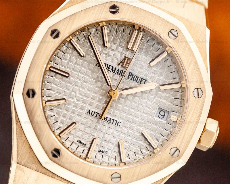 Audemars Piguet 15450OR.OO.1256OR.01 Royal Oak Automatic 18K Rose Gold / Rose Bracelet