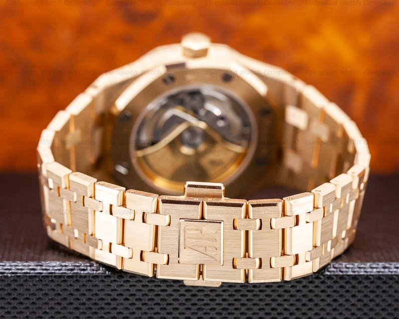 Audemars Piguet 15450OR.OO.1256OR.01 Royal Oak Automatic 18K Rose Gold / Rose Bracelet
