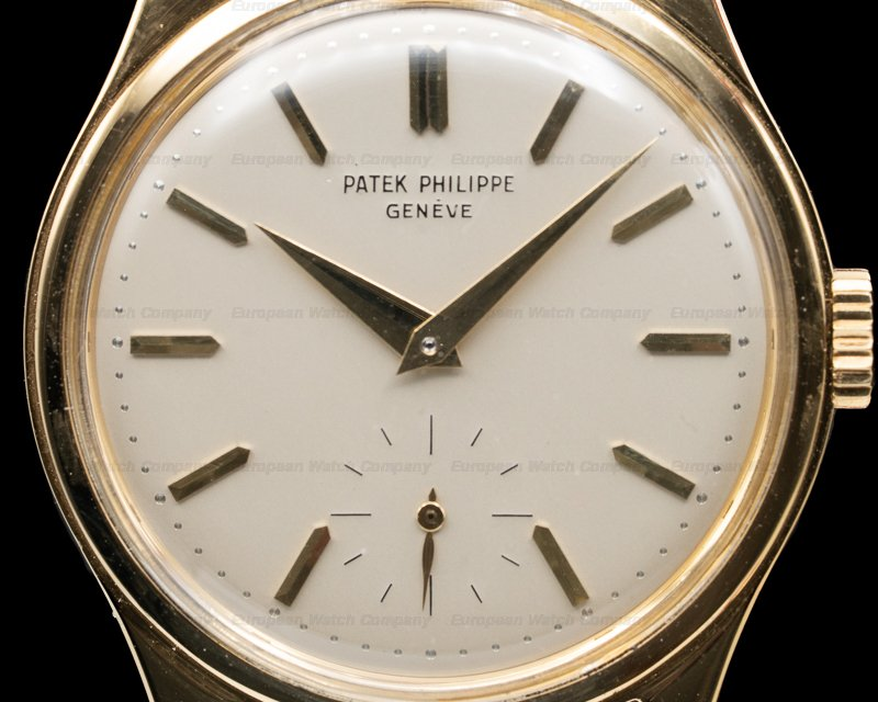 Patek Philippe 2509 2509 Vintage Calatrava Yellow Gold 27-400AM EXCELLENT