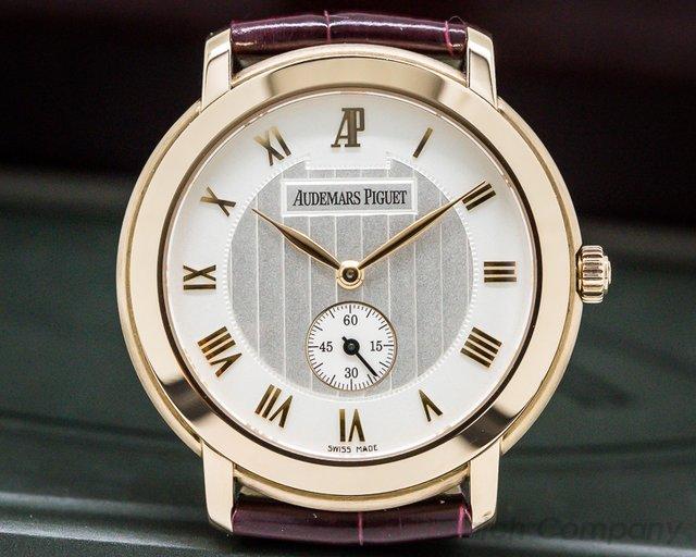Audemars Piguet 15056OR.OO.A067CR.02 Jules Audemars 18K Rose Gold Manual Wind
