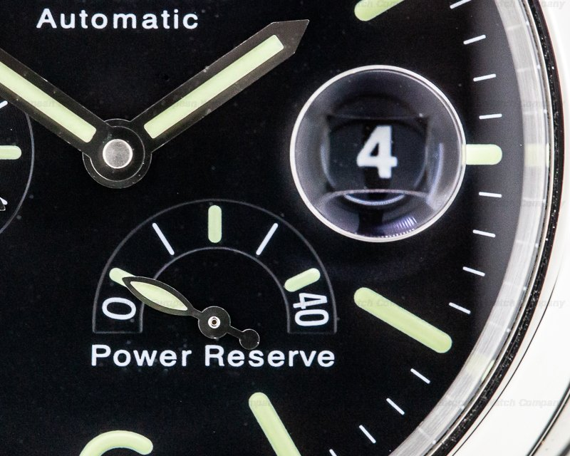 Panerai PAM00090 Luminor Power Reserve Black Dial 44MM SS