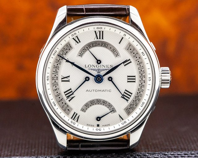 Longines L2.717.4.71.3 Master Collection GMT Retrograde Quadruple SS / Deployant