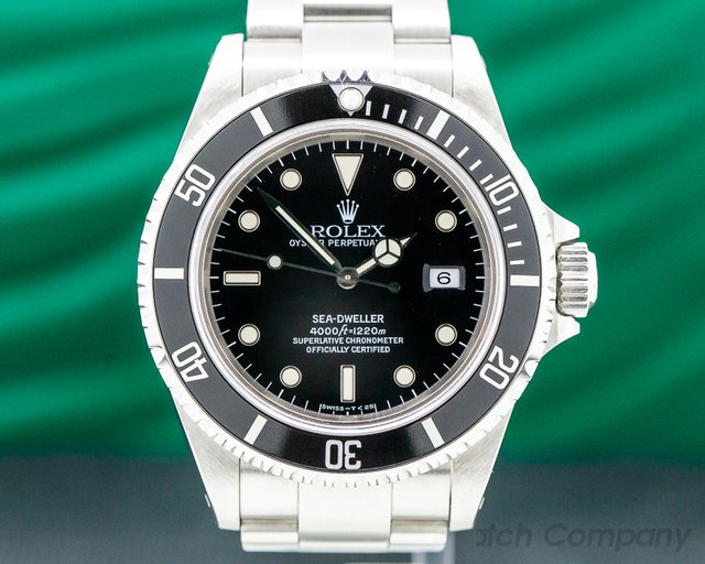 Rolex 16600 Sea Dweller SS FULL SET
