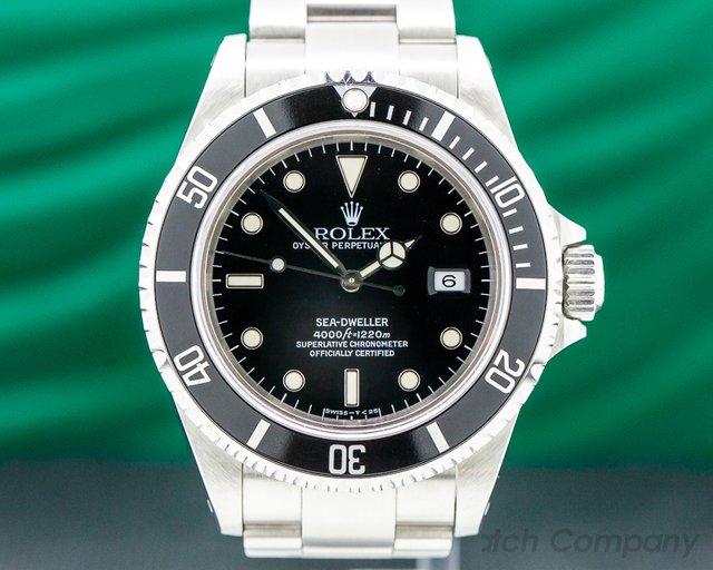 Rolex 16600 Sea Dweller SS FULL SET