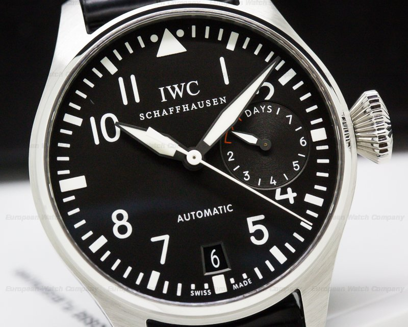 IWC IW500401 Big Pilot 7 Day SS