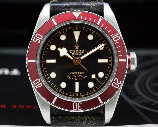 Tudor 79220R Tudor Heritage Black Bay SS