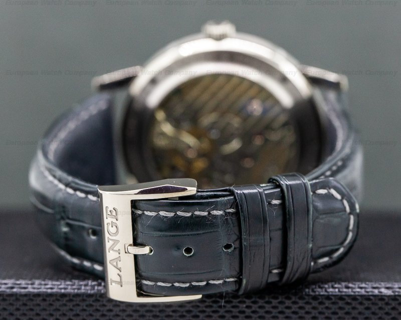 A. Lange and Sohne 116.026 Lange 1 Time Zone 18K White Gold Buenos Aires Limited Edition