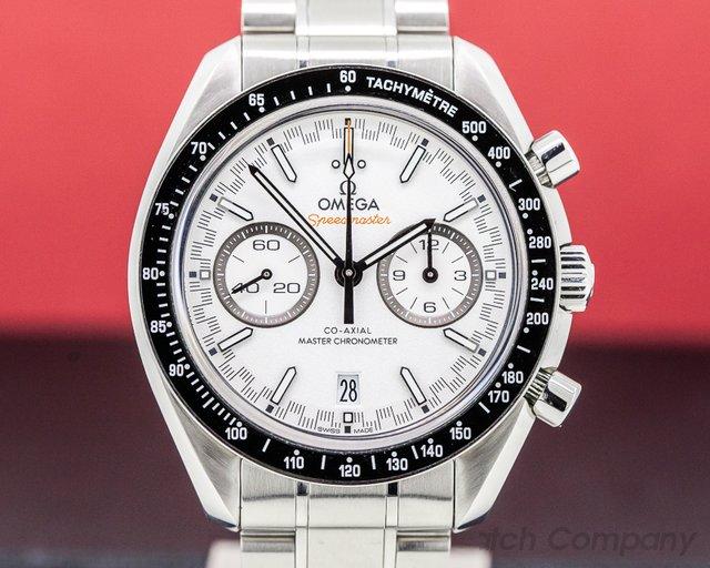 Omega 329.30.44.51.04.001 Speedmaster Racing Co-Axial Master Chronometer Chrono 44mm