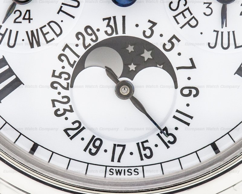 Patek Philippe 3940P-015 Perpetual Calendar White Dial Roman Platinum POSSIBLY UNIQUE