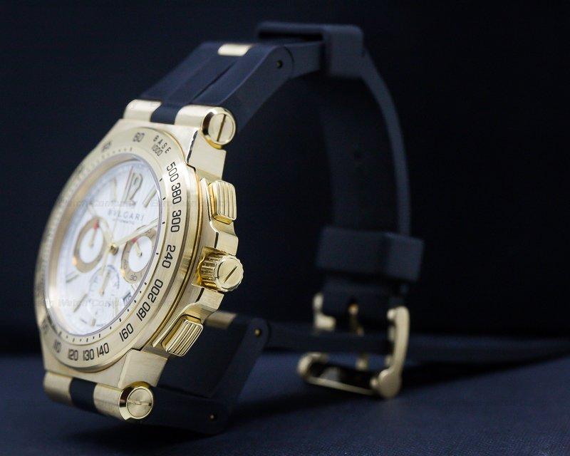 Bvlgari DP42C6GLDCH Bulgari Diagono Professional Chronograph 18K Yellow Gold
